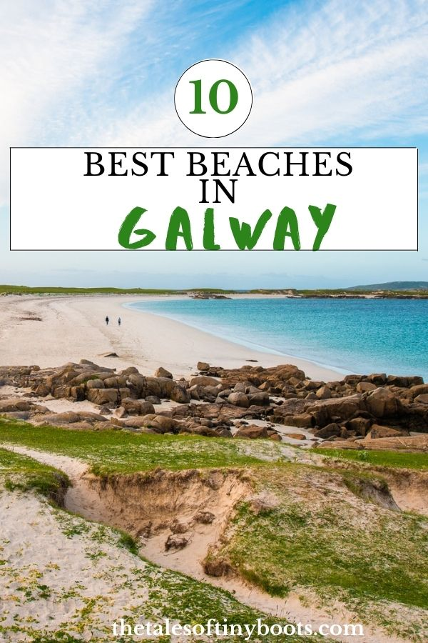 pin this post, best beaches in galway, best beaches in connemara