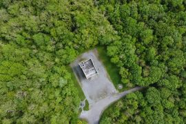 mausoleum, monivea woods, galway